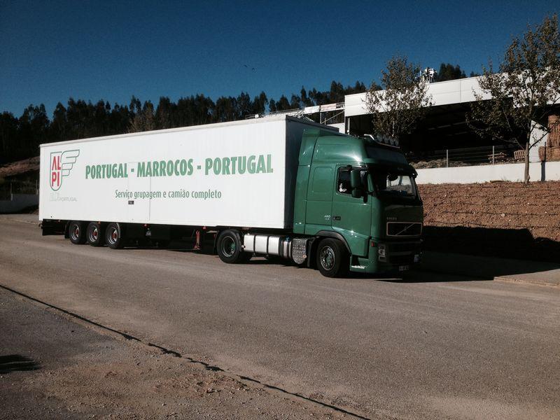 Camião Marrocos